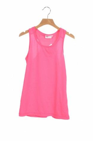 Μπλουζάκι αμάνικο παιδικό Inside, Μέγεθος 11-12y/ 152-158 εκ., Χρώμα Ρόζ , 87% πολυεστέρας, 13% ελαστάνη, Τιμή 3,18€