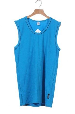 Μπλουζάκι αμάνικο παιδικό Yigga, Μέγεθος 15-18y/ 170-176 εκ., Χρώμα Μπλέ, 95% βαμβάκι, 5% ελαστάνη, Τιμή 6,43€