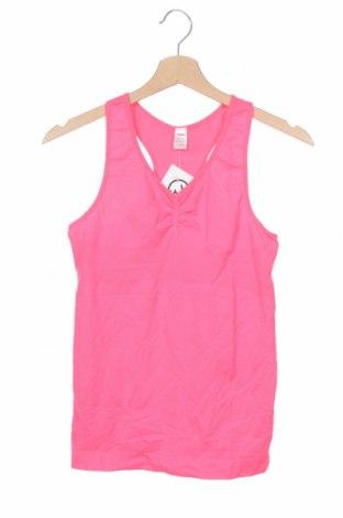 Μπλουζάκι αμάνικο παιδικό Yigga, Μέγεθος 15-18y/ 170-176 εκ., Χρώμα Ρόζ , 90% πολυαμίδη, 10% ελαστάνη, Τιμή 3,18€