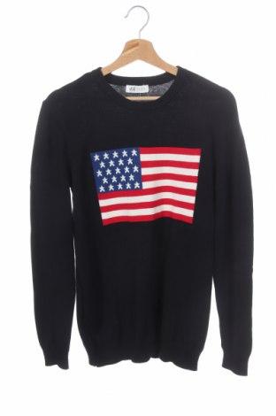 Παιδικό πουλόβερ H&M, Μέγεθος 15-18y/ 170-176 εκ., Χρώμα Μπλέ, Βαμβάκι, Τιμή 14,29€