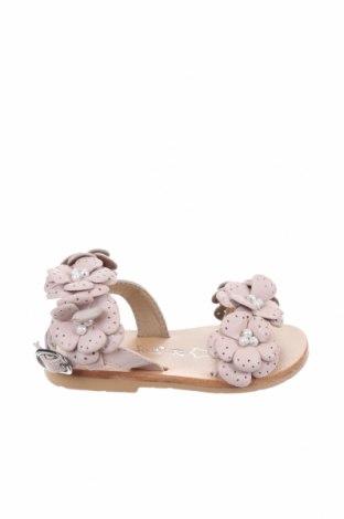 Детски сандали Oca-Loca, Размер 21, Цвят Розов, Естествена кожа, Цена 51,75лв.