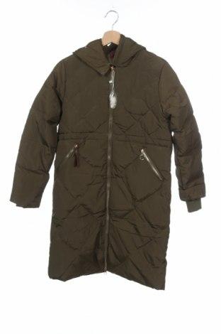 Παιδικό μπουφάν, Μέγεθος 12-13y/ 158-164 εκ., Χρώμα Πράσινο, Φτερά και πούπουλα, κλωστοϋφαντουργικά προϊόντα, Τιμή 11,55€