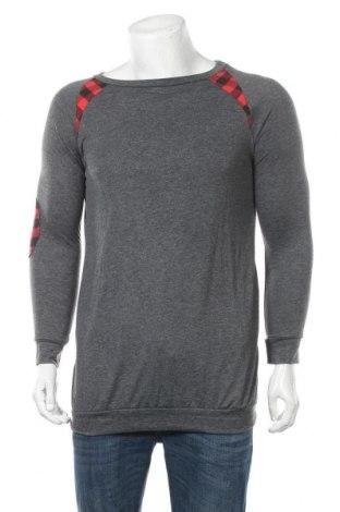 Мъжка блуза, Размер S, Цвят Сив, 35% памук, 65% полиестер, Цена 7,96лв.