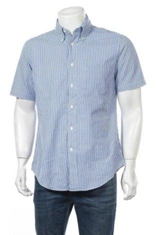 Мъжка риза Brooks Brothers, Размер M, Цвят Син, Памук, Цена 11,03лв.