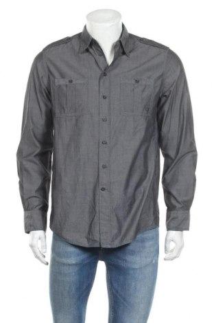 Мъжка риза Casa Blanca, Размер M, Цвят Сив, Цена 17,01лв.