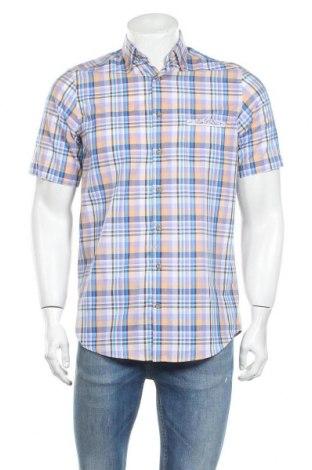 Мъжка риза Claudio Campione, Размер S, Цвят Многоцветен, Памук, Цена 12,25лв.