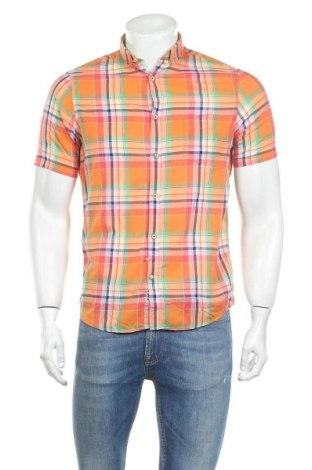 Мъжка риза Colours & Sons, Размер S, Цвят Оранжев, Памук, Цена 12,25лв.