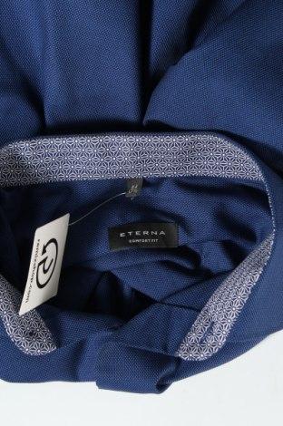 Мъжка риза Eterna, Размер XL, Цвят Син, Памук, Цена 34,50лв.