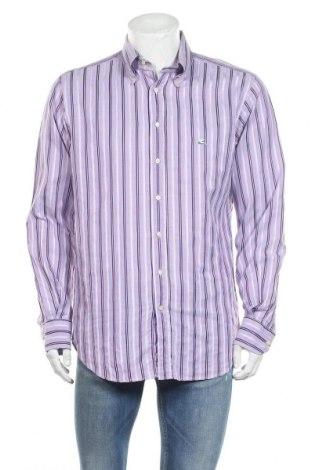 Мъжка риза Etro, Размер XL, Цвят Лилав, Памук, Цена 51,66лв.