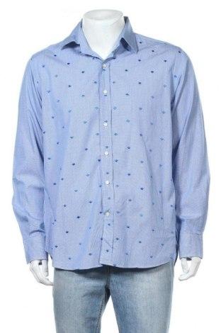 Мъжка риза Etro, Размер XL, Цвят Син, Памук, Цена 71,82лв.