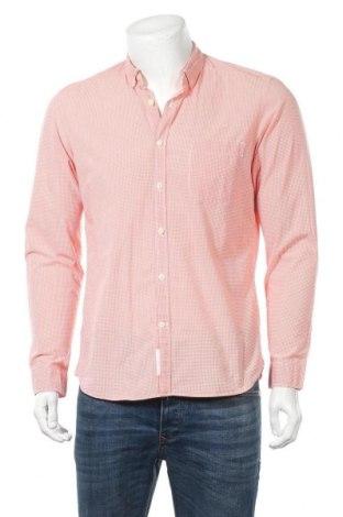 Мъжка риза H&M L.O.G.G., Размер M, Цвят Розов, Цена 10,40лв.