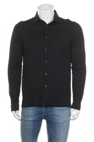 Ανδρικό πουκάμισο Hugo Boss, Μέγεθος L, Χρώμα Μαύρο, Βαμβάκι, Τιμή 25,83€