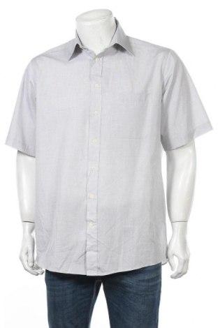 Мъжка риза Kingfield, Размер M, Цвят Сив, 55% памук, 45% полиестер, Цена 5,35лв.