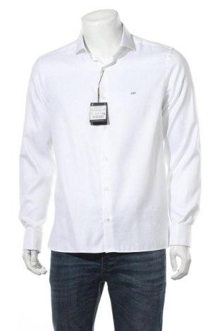 Ανδρικό πουκάμισο Massimo Dutti, Μέγεθος XL, Χρώμα Λευκό, Βαμβάκι, Τιμή 14,23€