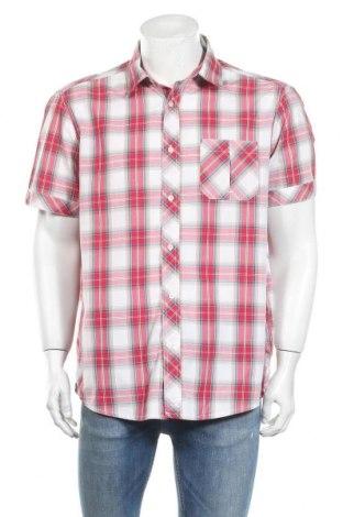 Мъжка риза Quechua, Размер XL, Цвят Многоцветен, 70% памук, 30% полиестер, Цена 5,67лв.