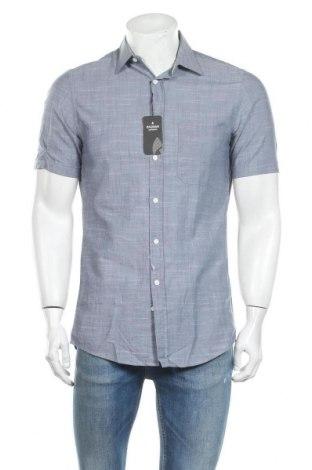 Мъжка риза Ragman, Размер S, Цвят Син, Памук, Цена 17,25лв.