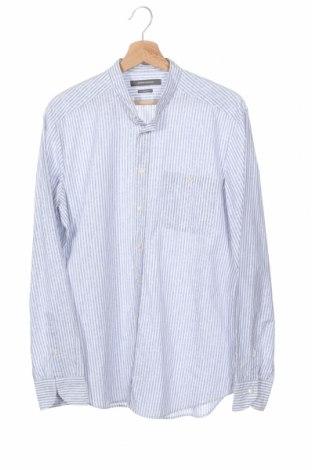 Мъжка риза Rene Lezard, Размер M, Цвят Син, Памук, Цена 10,80лв.