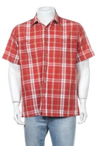 Мъжка риза Rodeo, Размер M, Цвят Червен, Цена 14,28лв.