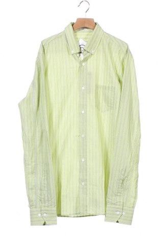 Мъжка риза Signum, Размер S, Цвят Зелен, 95% памук, 5% еластан, Цена 3,00лв.