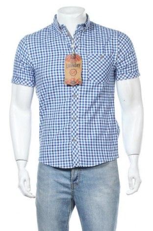 Мъжка риза Tokyo Laundry, Размер S, Цвят Син, Памук, Цена 13,00лв.