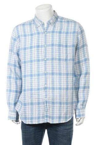 Ανδρικό πουκάμισο Trenery, Μέγεθος XL, Χρώμα Πολύχρωμο, Λινό, Τιμή 9,35€