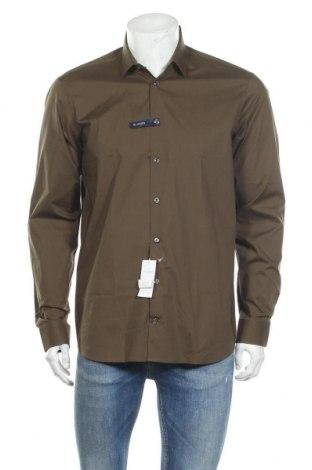 Мъжка риза Van Laack, Размер M, Цвят Зелен, Памук, Цена 119,25лв.