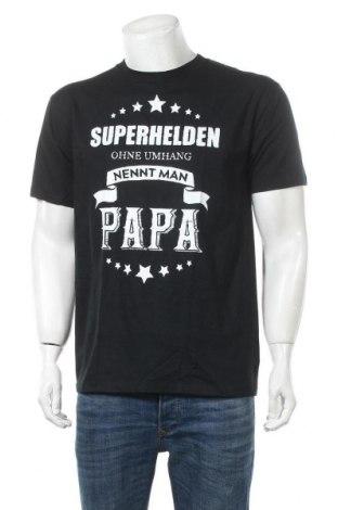Pánské tričko , Velikost M, Barva Černá, Bavlna, Cena  162,00Kč