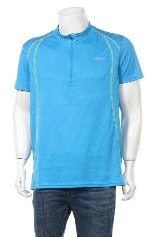 Ανδρικό t-shirt Crivit, Μέγεθος XL, Χρώμα Μπλέ, Πολυεστέρας, Τιμή 3,41€
