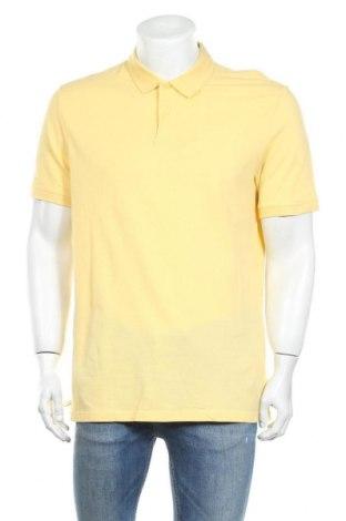 Мъжка тениска H&M L.O.G.G., Размер M, Цвят Жълт, Памук, Цена 19,72лв.