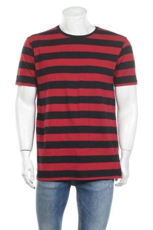 Мъжка тениска Skill, Размер XL, Цвят Червен, Памук, Цена 9,82лв.