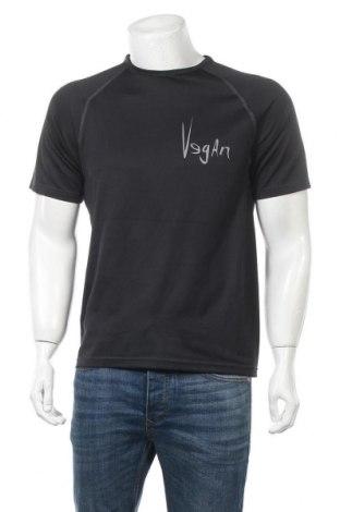 Мъжка тениска Tee Jays, Размер M, Цвят Черен, Полиестер, Цена 8,40лв.