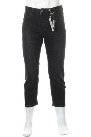 Мъжки дънки Review, Размер M, Цвят Черен, 99% памук, 1% еластан, Цена 22,62лв.