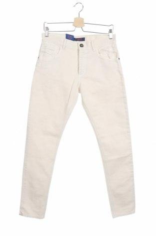 Мъжки дънки Trussardi Jeans, Размер M, Цвят Бял, Памук, Цена 62,37лв.