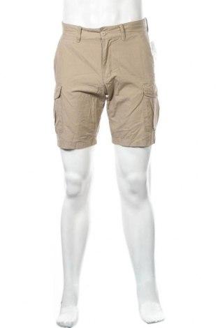 Мъжки къс панталон H&M L.O.G.G., Размер S, Цвят Бежов, 100% памук, Цена 24,57лв.