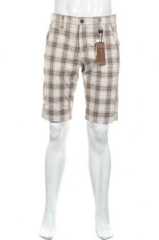 Мъжки къс панталон Select, Размер M, Цвят Бежов, Памук, Цена 13,97лв.