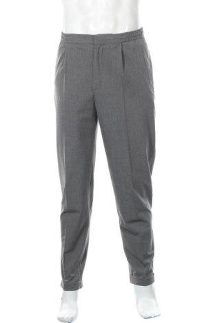 Мъжки панталон American Vintage, Размер M, Цвят Сив, 63% полиестер, 32% вискоза, 5% еластан, Цена 59,15лв.