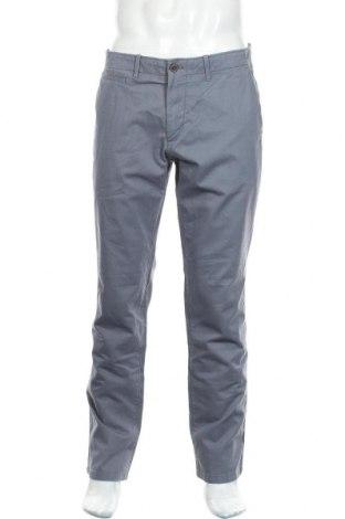 Мъжки панталон Gap, Размер L, Цвят Син, Памук, Цена 21,42лв.