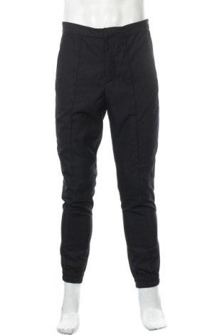 Мъжки панталон H&M, Размер M, Цвят Черен, 80% полиестер, 20% вискоза, Цена 8,51лв.
