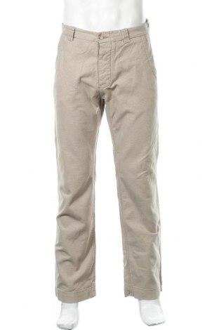Мъжки панталон H&M L.O.G.G., Размер M, Цвят Бежов, Памук, Цена 7,35лв.