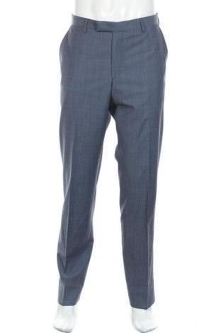 Мъжки панталон Pierre Cardin, Размер L, Цвят Син, 80% вълна, 10% полиестер, 10% полиамид, Цена 49,02лв.