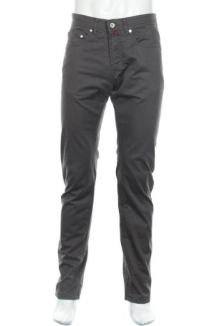Мъжки панталон Pierre Cardin, Размер M, Цвят Сив, 96% памук, 4% еластан, Цена 19,85лв.
