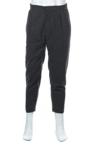 Pantaloni de bărbați Review, Mărime M, Culoare Gri, 80% poliester, 20% lână, Preț 44,01 Lei