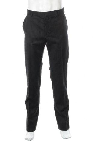 Pantaloni de bărbați Strellson, Mărime M, Culoare Negru, Lână, Preț 439,15 Lei