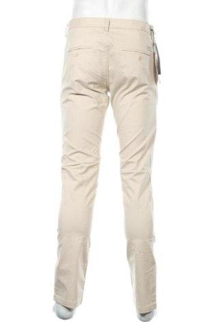 Мъжки панталон Teddy Smith, Размер L, Цвят Бежов, 97% памук, 3% еластан, Цена 61,50лв.
