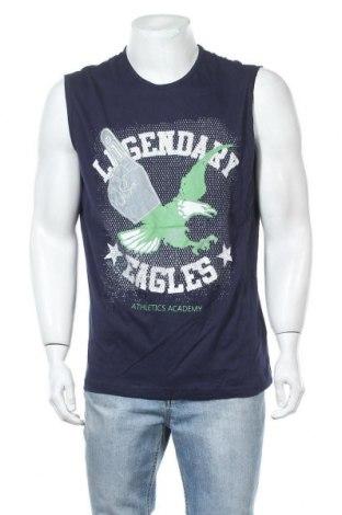 Ανδρική αμάνικη μπλούζα Identic, Μέγεθος XL, Χρώμα Μπλέ, Βαμβάκι, Τιμή 9,09€