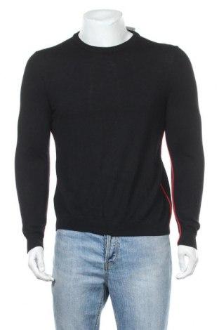 Ανδρικό πουλόβερ Hugo Boss, Μέγεθος M, Χρώμα Μαύρο, Μαλλί, Τιμή 100,13€