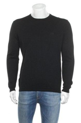 Pánský svetr  Hugo Boss, Velikost XL, Barva Černá, Vlna, Cena  3754,00Kč