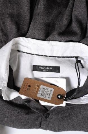 Мъжки пуловер Teddy Smith, Размер S, Цвят Сив, Памук, Цена 23,60лв.