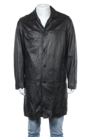 Ανδρικό δερμάτινο μπουφάν Wilsons Leather, Μέγεθος L, Χρώμα Μαύρο, Γνήσιο δέρμα, Τιμή 26,60€