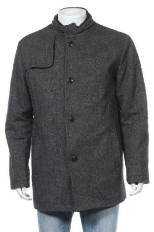 Ανδρικά παλτό Selected Homme, Μέγεθος XL, Χρώμα Γκρί, 55% πολυεστέρας, 40% μαλλί, 5% άλλα υφάσματα, Τιμή 37,02€